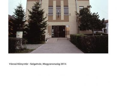 Alpern Bernadett Anna: Városi Könyvtár - Szigetvár (részlet a Used Stones című sorozatból), 2014