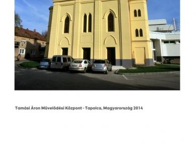 Alpern Bernadett Anna: Tamási Áron Művelődési Központ - Tapolca (részlet a Used Stones című sorozatból), 2014