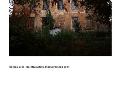 Alpern Bernadett Anna: Romos, üres - Berettyóújfalu (részlet a Used Stones című sorozatból), 2014
