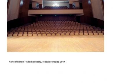 Alpern Bernadett Anna: Koncertterem - Szombathely (részlet a Used Stones című sorozatból), 2014