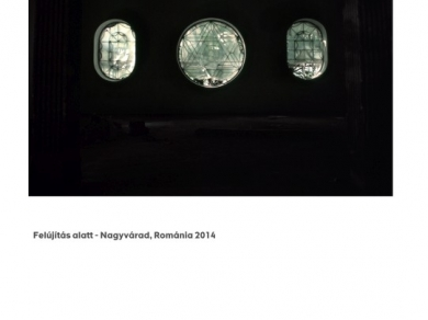 Alpern Bernadett Anna: Felújítás alatt - Nagyvárad (részlet a Used Stones című sorozatból), 2014