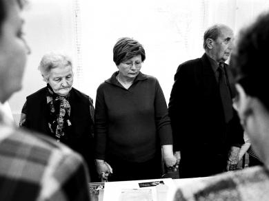 Bócsi Krisztián: Cím nélkül(részlet a Rákos betegek című sorozatból), 2007.