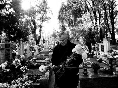 Bócsi Krisztián: Cím nélkül (részlet a Rákos betegek című sorozatból), 2007.