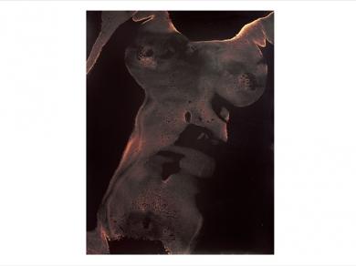 Cseh Gabriella: Cím nélkül (részlet a Testlenyomat című sorozatból), 1997.