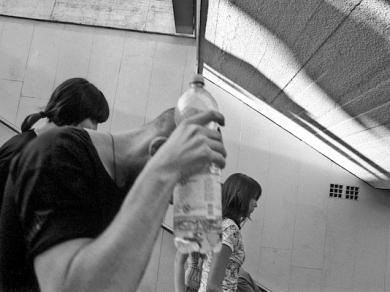 Dezső D. Tamás: Cím nélkül, (részlet az Arcokat nem című sorozatból), 2007.