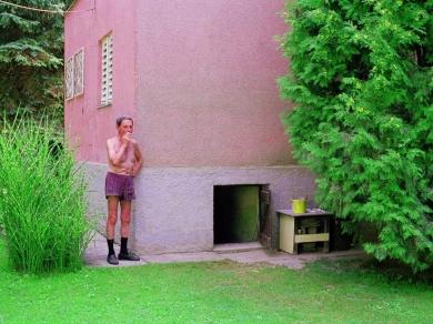 Hermann Ildikó: Cím nélkül, (részlet a Nyaralók című sorozatból), 2006.