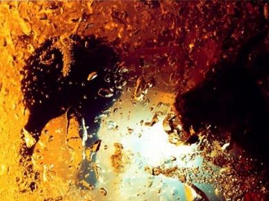Illés Barna: Akvamarin No.4., 2000.