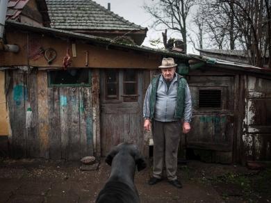 Móricz-Sabján Simon: Cím nélkül,(részlet a Sárvidék című sorozatból), 2014.