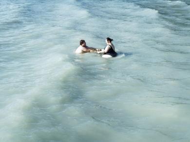 Simon Márk: 04 (részlet a Lacus Pelso - Sekély tó című sorozatból), 2010.