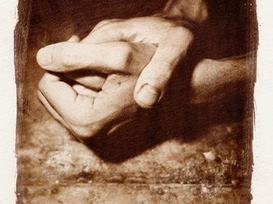 Síró Lajos: Kéz-Kép III., 1998.