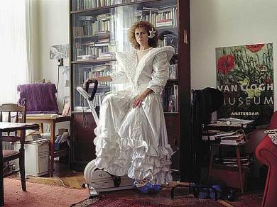 Szabó Benke Róbert: M. Mária ,(részlet a Hajadonok című sorozatból), 2004-2005.