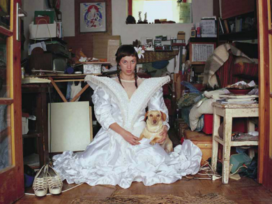 Szabó Benke Róbert: M. Zsófia ,(részlet a Hajadonok című sorozatból), 2004-2005.