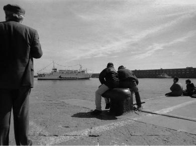 Szalontai Ábel: Cím nélkül, (részlet a Határokon át című sorozatból), 1997.