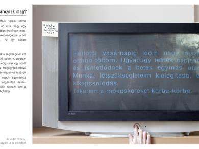 Váradi Viktor: Cím nélkül (részlet a sorozatból), 2010.