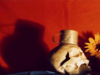Wechter Ákos: Cím nélkül (A látogató), 2000.